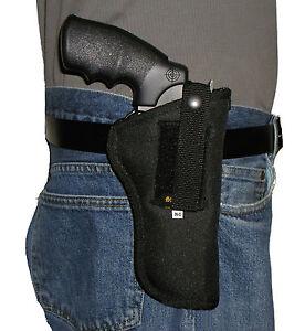 USA Hip Pistol Holster S&W Model 27 Revolver .357 Magnum 4 inch Barrel 357 44