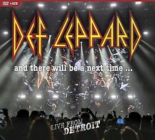 DEF LEPPARD New Sealed 2017 UNRELEASED LIVE DETROIT CONCERT DVD & 2 CD SET