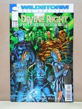 DIVINE RIGHT #1 of 12 WITHOUT BAG  IMAGE DC WildStorm 9.0 VF/NM Uncertified