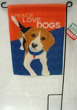 Beagle Mini Garden Flag