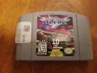 NFL Blitz (Nintendo 64, 1997) N64 Football Authentic Cleaned and Tested