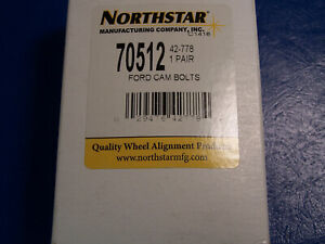NORTHSTAR Alignment FORD Cam Bolt / Bolts Caster Camber 42-778 70512 (PAIR)  NEW