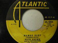 Ruth Brown  Mambo Baby  Atlantic 45