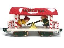 Vintage New Bright Train Musical Christmas Express Train ELF Pump Car Only