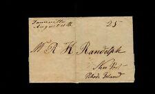 """Farmville August 11th"" 1812 VA - Peyton Randolph, Jr. to Richard K. Randolph"