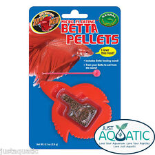 FREE SHIPPING Pack of 5X ZOO MED Betta Micro Floating Pellets Healthy Fish Food