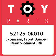 52125-0K010 Toyota Extension, front bumper reinforcement, rh 521250K010, New Gen