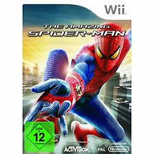THE AMAZING SPIDERMAN SPIDER-MAN NINTENDO WII NUOVO + conf. orig.