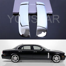 FAST EMS Set ROYAL CHROME SIDE VENT SHARK Covers for JAGUAR 07-09 XJ XJR XJ8