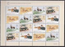 PORTUGAL, 1984 Zoo in Lissabon 1617-20 Kleinbogen **, (21737A)
