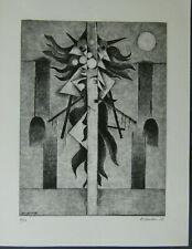 Alfredo Bikondoa, handsigniert, Originalradierung von 1978