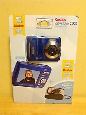 Kodak EasyShare CD22 Blue Camera Bundle (Includes Case) - Factory Sealed & New