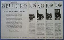The New Buick for Nineteen Twenty One         American Motorist        Aug. 1920