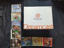 Sega Dreamcast Console Japanese Boxed with 8 Games NTSC-J