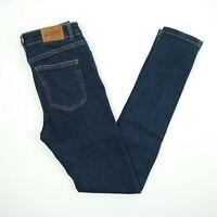 SUPER DRY - 'Sophia Skinny' Dark Blue Stretch Denim Jeans Women's Size 26