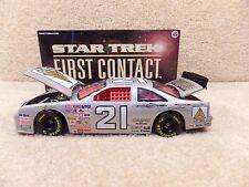New 1996 Action 1:24 Diecast NASCAR Michael Waltrip Star Trek Ford Thunderbird