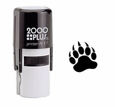 Bear Paw Self Inking Rubber Stamp - Black Ink (E-6043)
