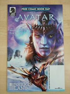 Avatar Free Comic Book Day FCBD 2017 Unstamped Unread Dark Horse Briggsland