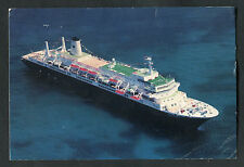 Posted 1987 from USA: Cruise Liner MS Nieuw Amsterdam at Sea