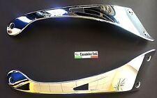 Seitenverkleidung chrom Roller Znen Benzhou Casabike Motorroller Retro Scooter
