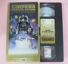 VHS film GUERRE STELLARI L'IMPERO COLPISCE ANCORA edizione speciale(F97)no dvd