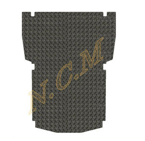 VAUXHALL ASTRA VAN 2006-2012 rear floor MAT IN Rubber FULLY TAILORED, 3MM & 5MM