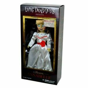 """Living Dead Dolls 94460 Annabelle Doll The Conjuring 10"""" Horror Figure"""