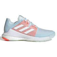 ADIDAS CRAZYFLIGHT Womens Volleyball Court Shoes Boost - Sky Blue - Size 9