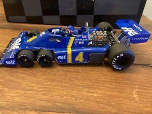 Exoto 1:18 Tyrrell ELF Ford P34 Depailler #4 Swedish GP 1976 6 Wheel GPC97042