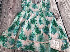 Jak & Peppar By Mustard Pie Evandale PALMETTO ISLAND Dress 2t Green Summer