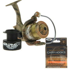 Arrière Drag fishing reel CKR30 Grossier//char//Spinning Fishing Reel ligne 8 lb environ 3.63 kg