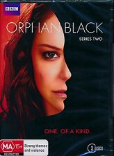 Orphan Black Series Two 2 Second DVD NEW 3-discs Region 4