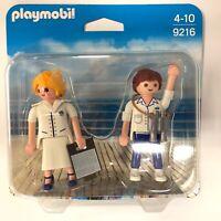 playmobil 9216 hôte et officier de croisière  neuf