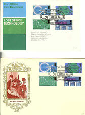 Technology Great Britain First Day Covers (1953-1970)