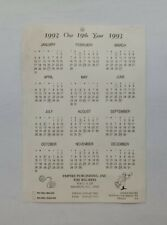 1993 Empire Publishing The Big Reel Newspaper Calendar