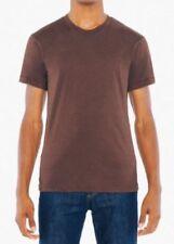 Camisetas de hombre marrón American Apparel