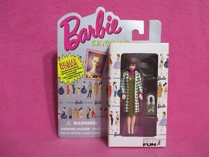 "4"" BARBIE KEYCHAIN FAVORITE STYLE 1995 MATTEL, INC. COLLECTIBLE KEEPSAKE GIFT #3"
