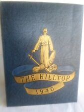 Marquette University 1940 Yearbook The Hilltop. B4
