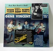 GENE VINCENT Live At Town Hall Party 1958 & 1959 VINYL LP Sealed SUNDAZED 2005