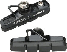 TRP Inplace Road Cartridge Brake Pads with Black Holders Front and Rear Set of 4