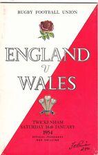 England v Wales 1954 @ Twickenham