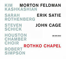 Morton Feldman : Rothko Chapel CD (2015) ***NEW***