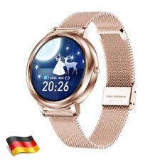 Neu Smartwatch Wasserdicht Sportuhr Pulsuhr Fitness Tracker Damen Frauen Uhr DE