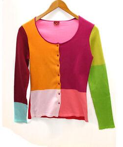 Mia Zia multicolor cotton jumper size 38 IT cardigan en multicolores en algodon
