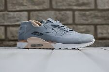 NikeLAB Air Max 90 Royal Grey Vachetta Tan Brown Premium Suede UK 7 US 8 Cork 1