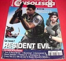 Magazine Consoles + [ n°128 Sep 2002] Resident Evil Nintendo Gamecube Super *JRF