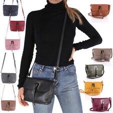 Leder Tasche Schulter Umhänge Tasche Italy Cross Body Bag Shopper Clutch NEU