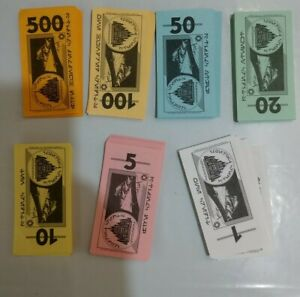 Monopoly Star Wars Trilogy Edition Replacement Pieces Cash - money