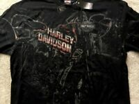 Harley Davidson Rewarding Rumble Black Shirt Nwt Men's Small