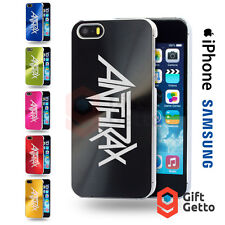 Anthrax Thrash Metal Logo Engraved CD Phone Cover Case - iPhone & Samsung Models